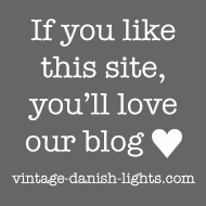 Visit our vintage Danish lights blog