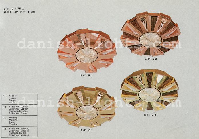 Unspecified designer for Coronell: E41 B1, E41 B3, E41 C1, E41 C3