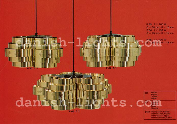 Unspecified designer for Coronell: P63 C1, P64 C1, P65 C1