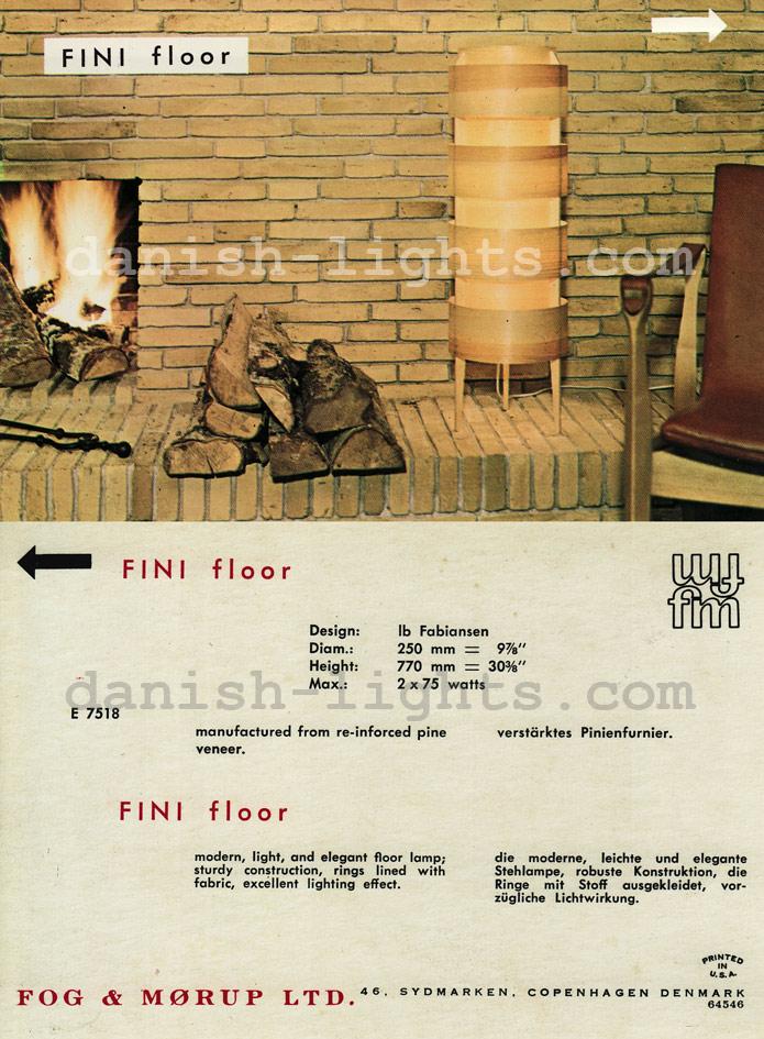 Ib Fabiansen for Fog & Mørup: Fini floor