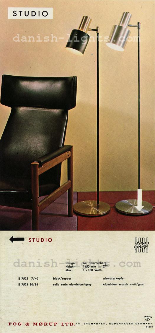 Jo Hammerborg for Fog & Mørup: Studio