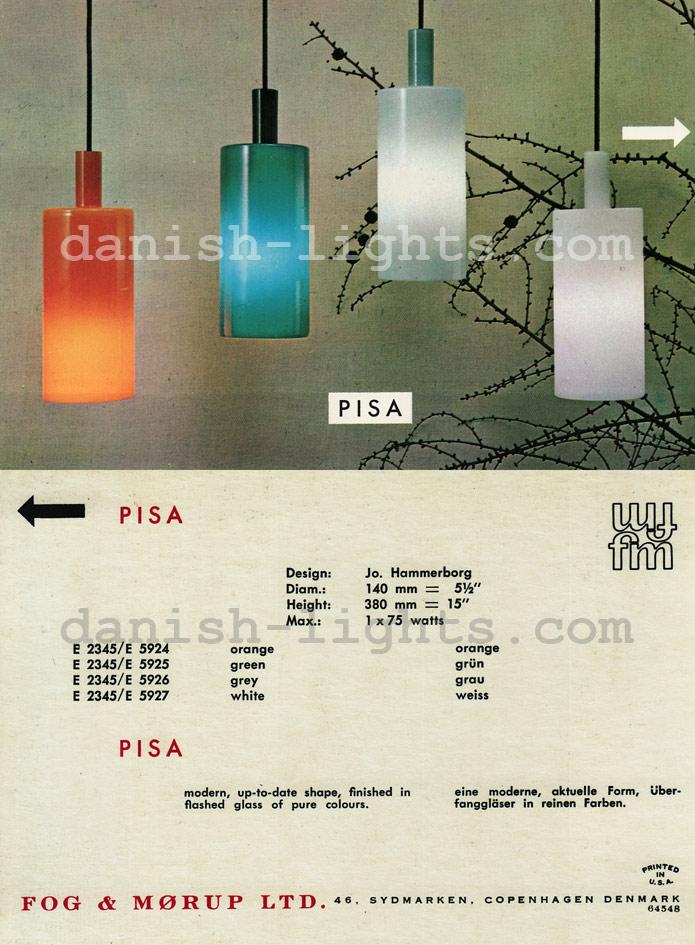 Jo Hammerborg for Fog & Mørup: Pisa