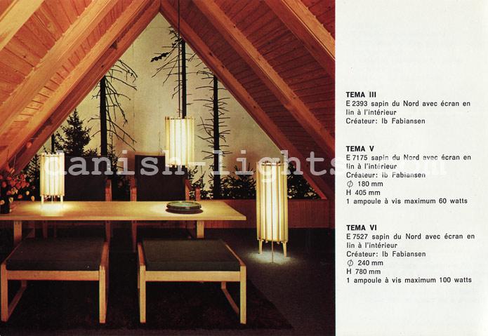 Ib Fabiansen for Fog & Mørup: Tema III, Tema V, Tema VI