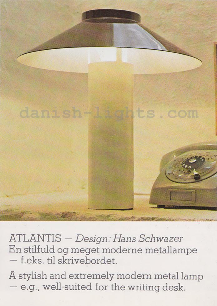 Hans Schwazer for Holmegaard: Atlantis