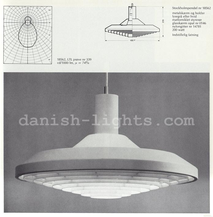 Unspecified designer for Louis Poulsen: Stockholmpendel