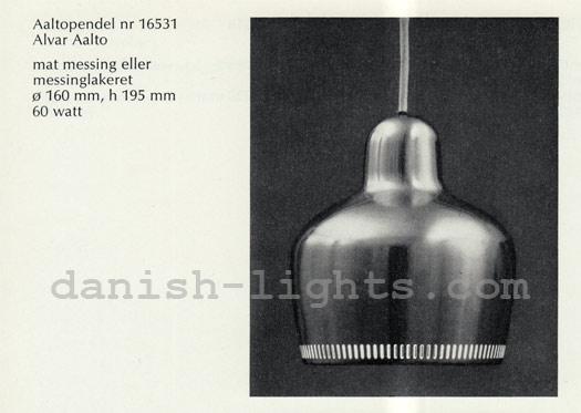 Alvar Aalto for Louis Poulsen: Aaltopendel