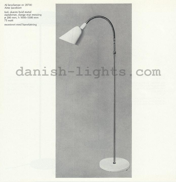 Arne Jacobsen for Louis Poulsen: AJ reading lamp 28700