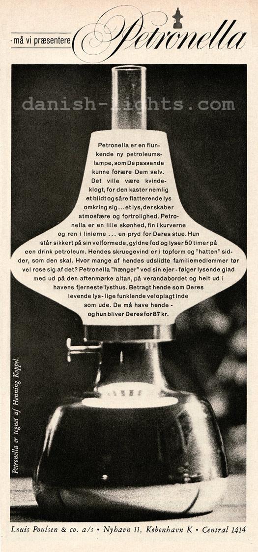 Henning Koppel for Louis Poulsen: Petronella