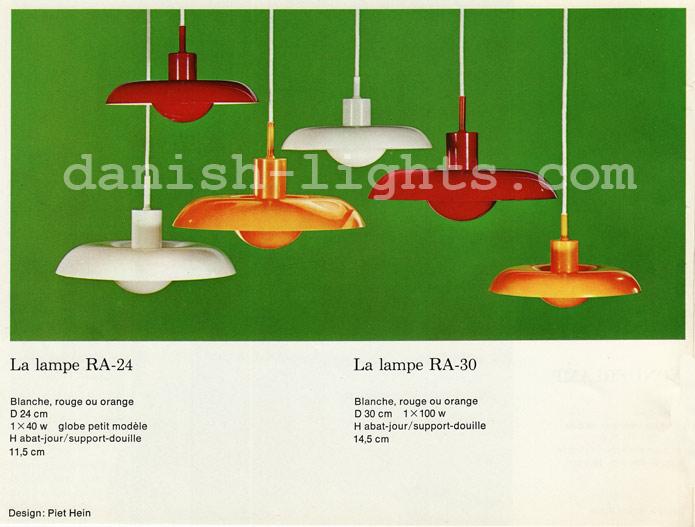 Piet Hein for Lyfa: Ra-24, Ra-30