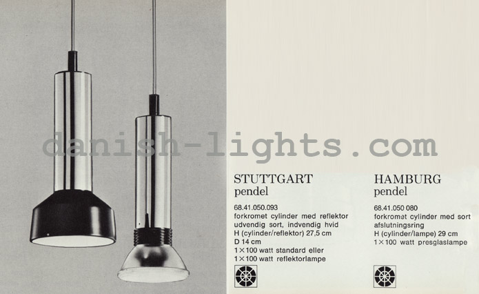 Unspecified designer for Lyfa: Stuttgart, Hamburg