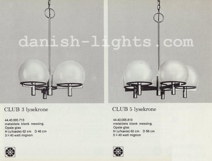 Unspecified designer for Lyfa: Club 3, Club 5