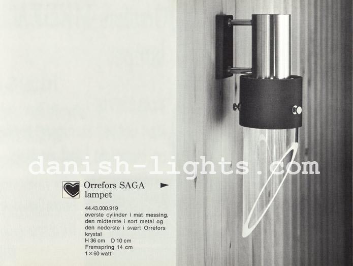 Unspecified designer for Lyfa: Orrefors Saga