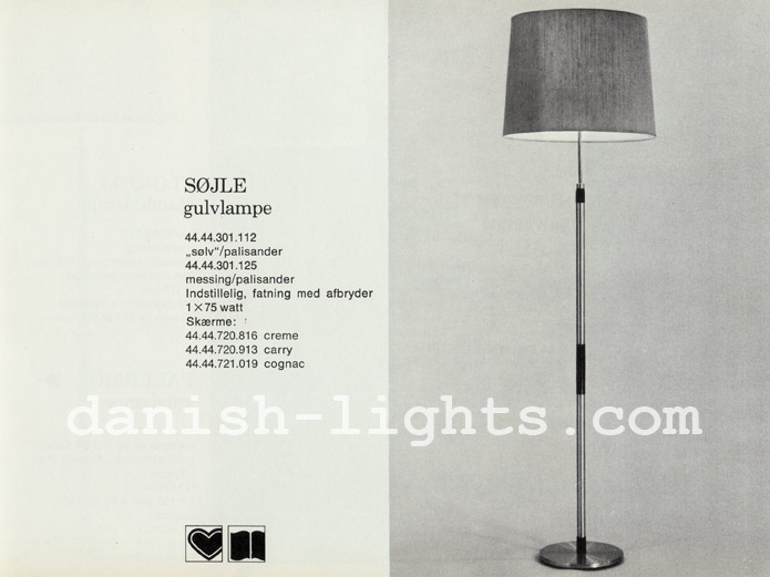 Unspecified designer for Lyfa: Søjle floor lamp