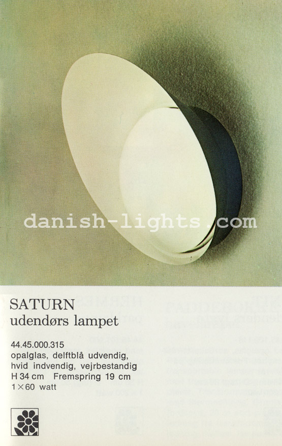Unspecified designer for Lyfa: Saturn outdoor wall light