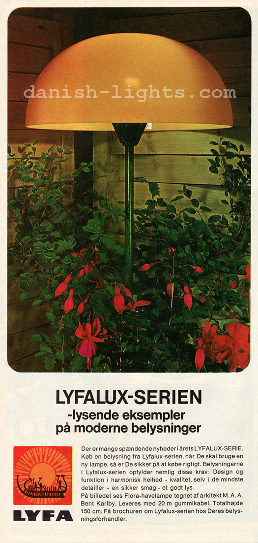 Bent Karlby for Lyfa: Flora