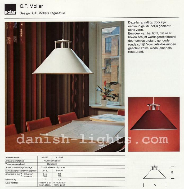 CF Møller Design Studio for Solar (Nordisk Solar Compagni): CF Møller