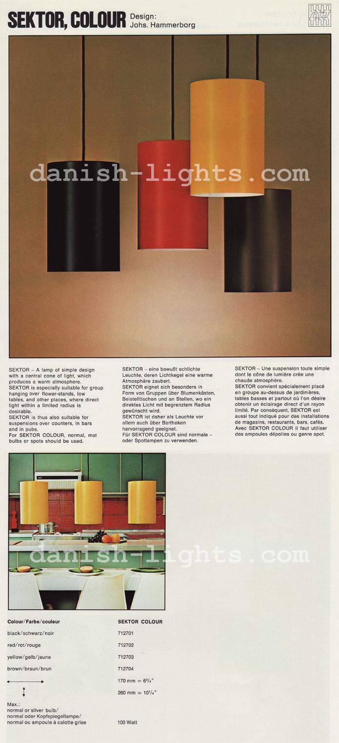 Jo Hammerborg for Fog & Mørup: Sektor Colour