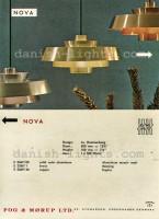 Jo Hammerborg for Fog & Mørup: Nova