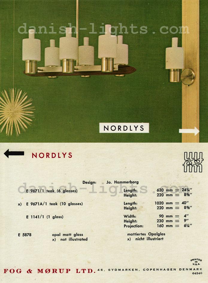 Jo Hammerborg for Fog & Mørup: Nordlys