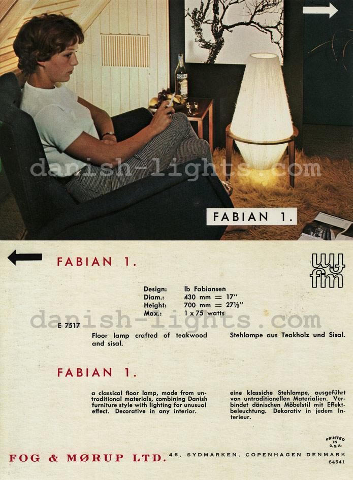 Ib Fabiansen for Fog & Mørup: Fabian 1