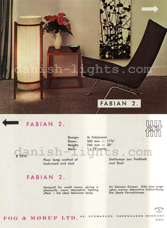 Ib Fabiansen for Fog & Mørup: Fabian 2