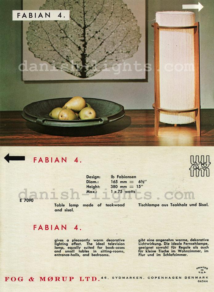Ib Fabiansen for Fog & Mørup: Fabian 4