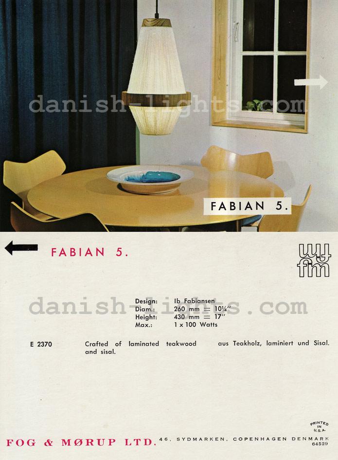 Ib Fabiansen for Fog & Mørup: Fabian 5