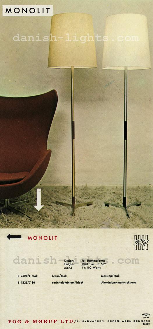 Jo Hammerborg for Fog & Mørup: Monolit