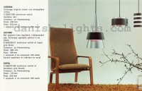 Jo Hammerborg for Fog & Mørup: Corona, Saturn, Eiffel