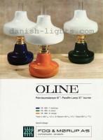 Unspecified designer for Fog & Mørup: Oline 1