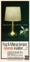 Jo Hammerborg for Fog & Mørup: Orient table lamp 1