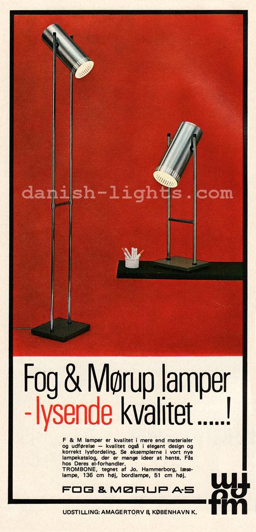 Jo Hammerborg for Fog & Mørup: Trombone I, Trombone II