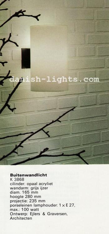 Ejlers & Graversen for Fog & Mørup: Outdoor wall light