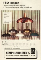 Winding & Wright for Kemp & Lauritzen: TSO-lamps 1