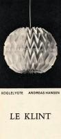 Andreas Hansen for Le Klint: Koglelygte 5