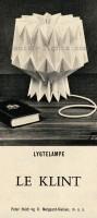 Peter Hvidt & Orla Mølgaard-Nielsen for Le Klint: Lygtelampe 1