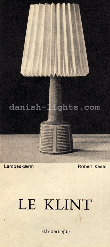 Robert Kasal for Le Klint: lampshade