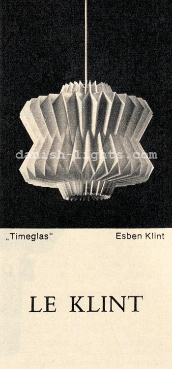 Esben Klint for Le Klint: Timeglas