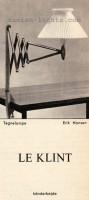 Erik Hansen for Le Klint: Tegnelampe 6
