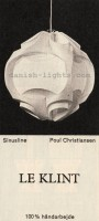 Poul Christiansen for Le Klint: Sinusline pendant