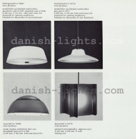 Arne Jacobsen for Louis Poulsen: Stellingpendel, Oxfordpendel, AJ Pendel 16548, Barpendel 7