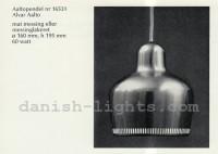 Alvar Aalto for Louis Poulsen: Aaltopendel 1
