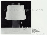 Yki Nummi for Louis Poulsen: Orno cylinder table lamp