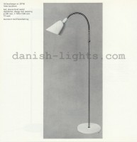 Arne Jacobsen for Louis Poulsen: AJ reading lamp 28700