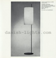 Arne Jacobsen for Louis Poulsen: AJ Royal floor lamp 28710 8