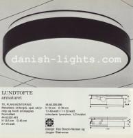 Kay Boeck-Hansen & Jørgen Staermose for Lyfa: Lundtofte ceiling light