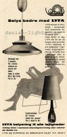 Bent Karlby, unspecified designer for Lyfa: pendant light, table lamp