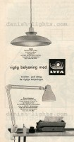 Bent Karlby, unspecified designer for Lyfa: P432, Flexa-lamp