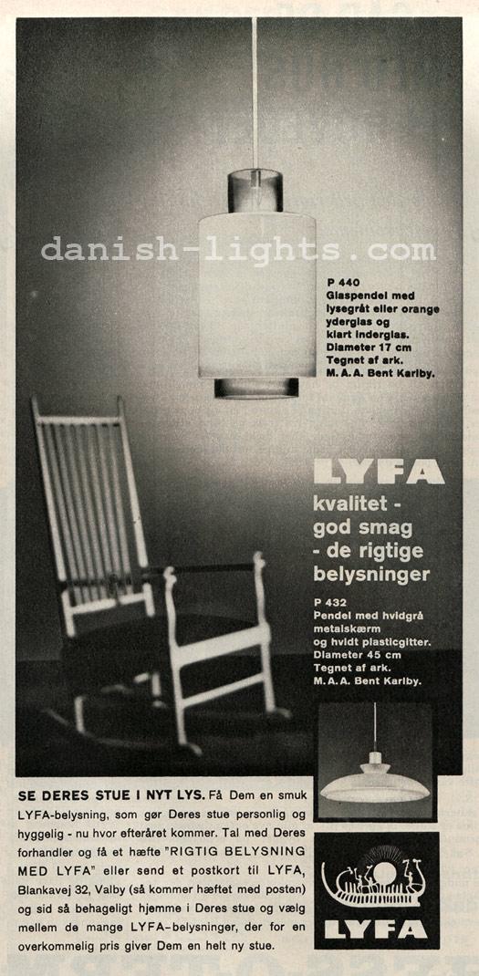 Bent Karlby for Lyfa: P440, P432