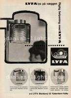 Unspecified designer for Lyfa: Orrefors-lamp series L425 1